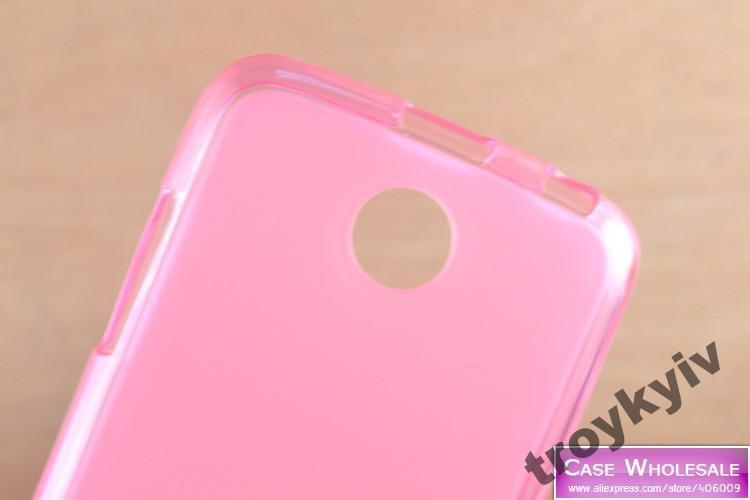 Чехол бампер на Lenovo А516 НАЛИЧИЕ Розовый