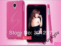 Чехол бампер Alcatel Idol OT 6030 НАЛИЧИЕ Розовый