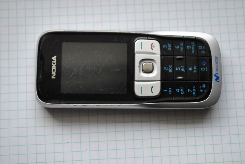 Nokia 2630 нет подсветки  экрана , лочена