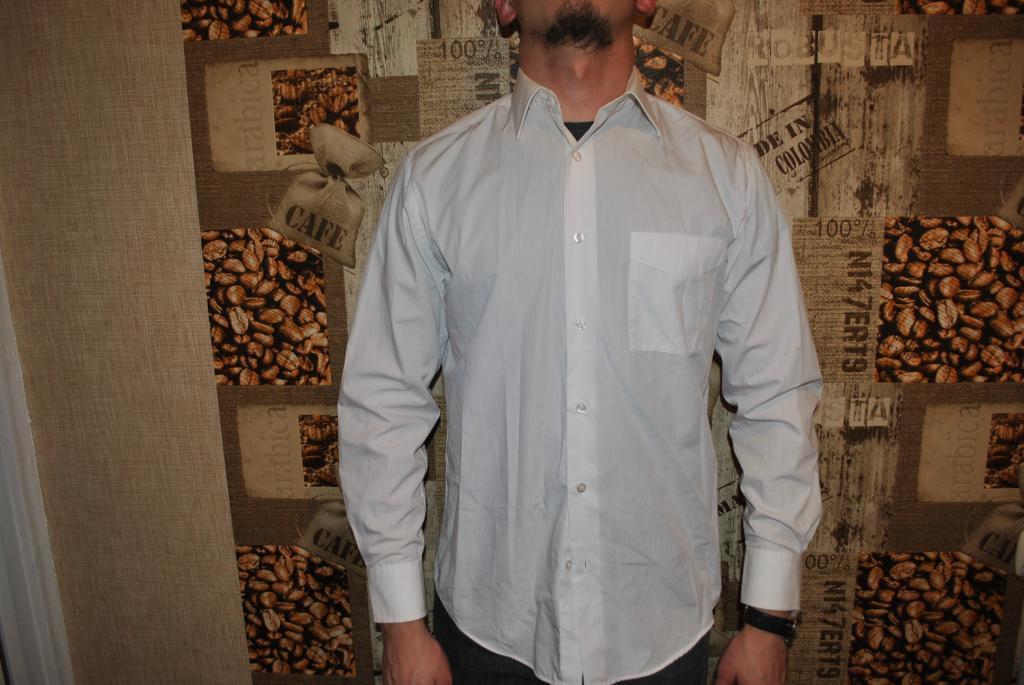 Рубашка мужская Tex Men белая   M