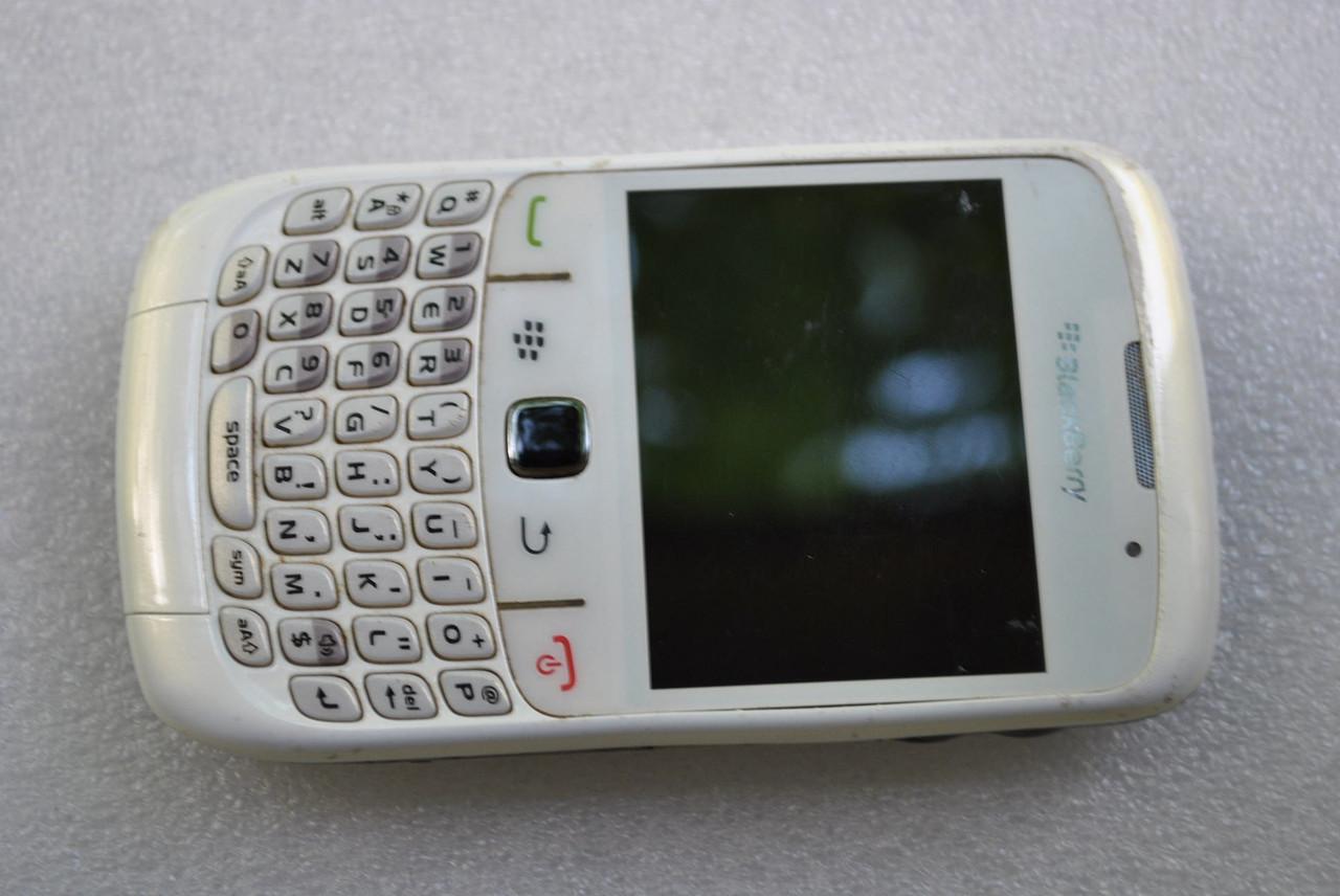 Blackberry 8520 белый экран