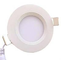Led светильник встраиваемый с каемкой Oasisled 12W теплый свет