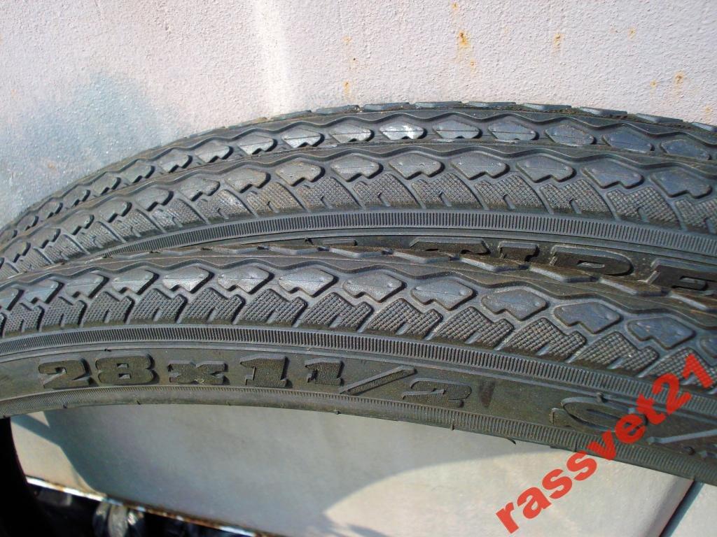 Покрышка 28х1 1/2(40-635)  Deli Tire с камерой