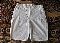 Шорты женские белые пояс 76 см