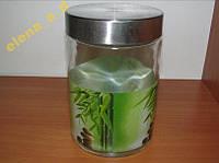 Ёмкость для сыпучих Зелёный бамбук (1,1 л)
