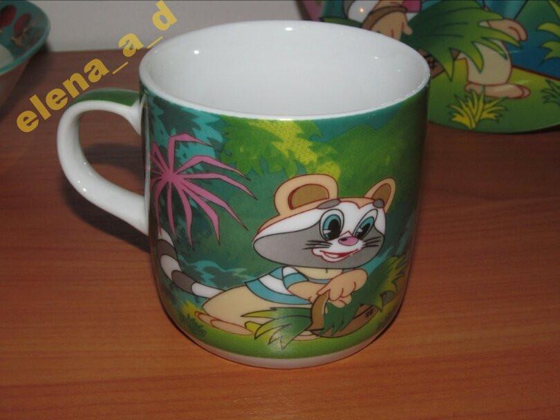 АКЦИЯ! Чашка Крошка Енот 230 мл
