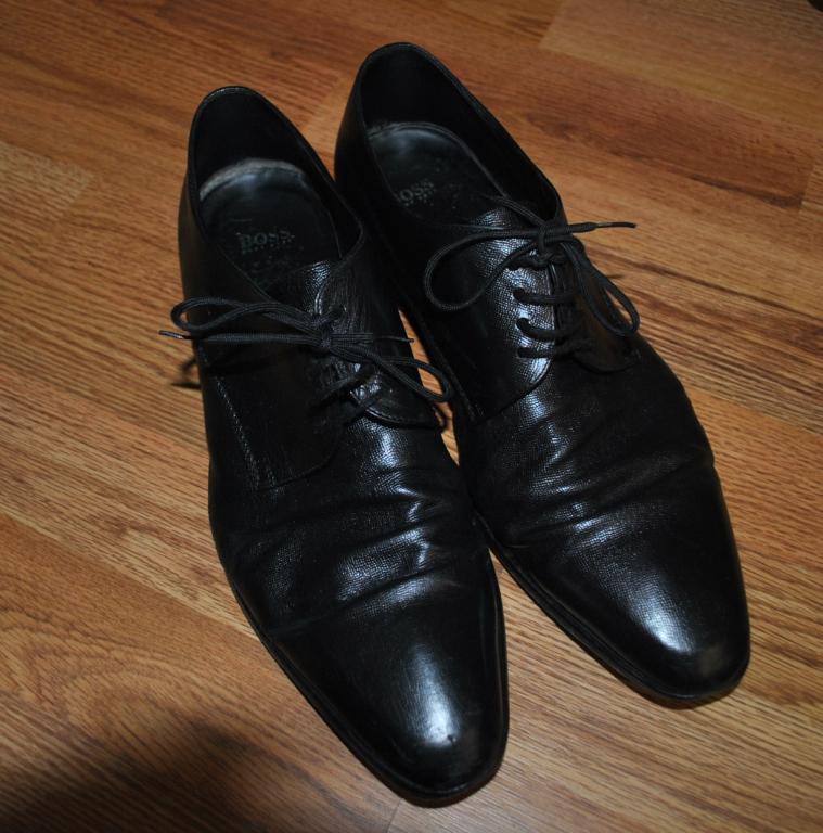 Туфли мужские Hugo Boss 44 размер кожа оригинал