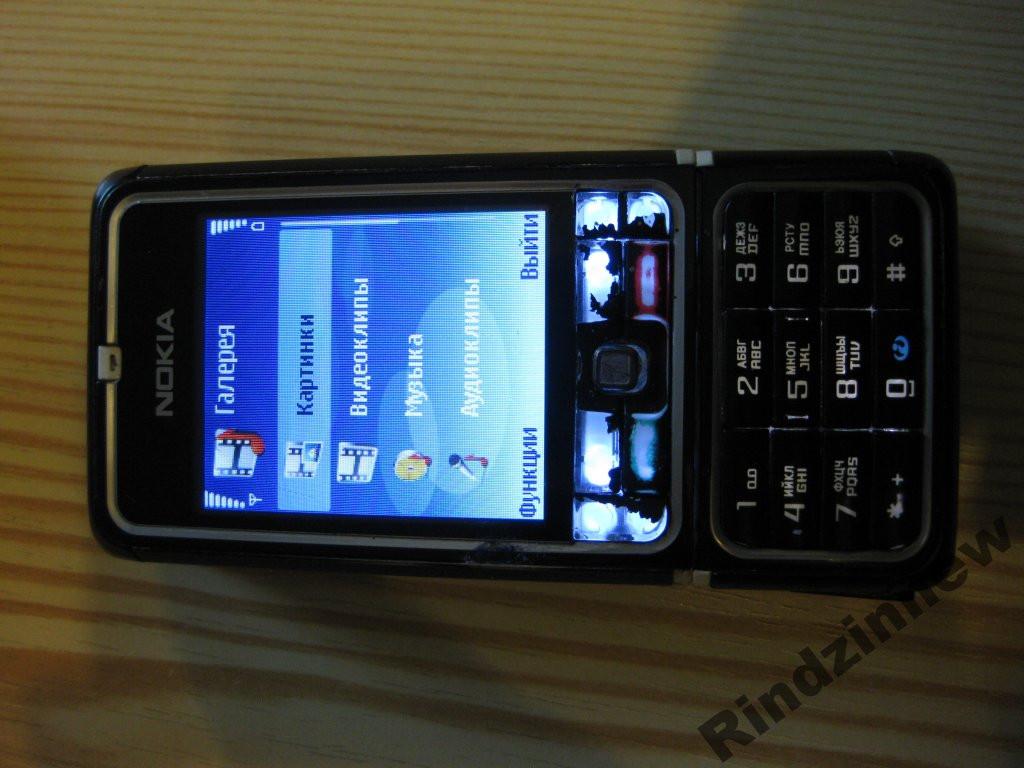Моб.телефон NOKIA 3250 Xpress Music в комплекте.