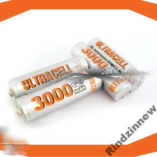 Аккумуляторы ULTRACELL AA объем 3000 под заказ