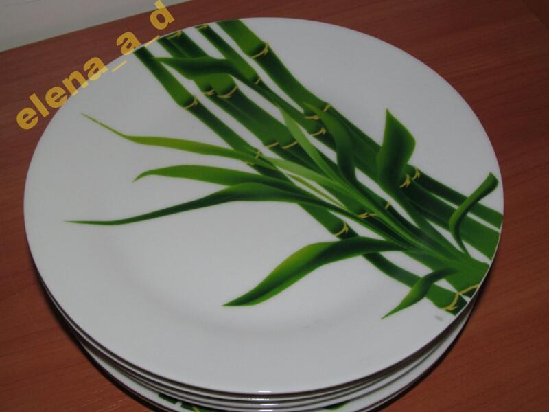 """308-1 Тарелка 7,5"""" Бамбук"""