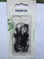 Стерео гарнитура Nokia HS-47 new 2,5мм