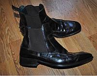 Ботинки мужские Lottusse 44 размер кожа 28.5 см