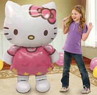 Котик большая игрушка надувной шар 116 * 65 см