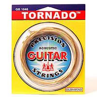 Струны для акустической гитары TORNADO 1046
