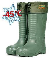 Сапоги зимние NORDMAN CLASSIC (40-41) ПЕ-15УММ -45°C с манжетой и многослойным утеплителем