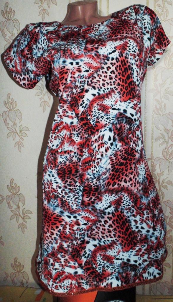 Легкое платье 46-48р