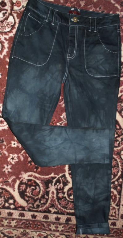 Бомбезные джинсы-скинни 46р