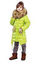 Зимняя куртка на девочку на тинсулейте «Китти»