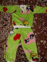 Пижамка(махра-травка) на  2-3года