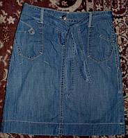 Модная фирменная  джинсовая юбка 44р(сост. новой)