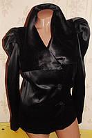 Атласный пиджак 44-46р