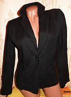 Качественный фирменный льняной пиджак 42-44р