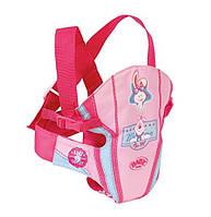 Переноска-кенгуру  для куклы пупса Беби Борн Baby Born Zapf Creation  822234