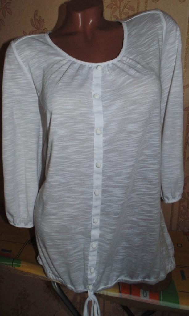 Красивая кофточка-футболка 52-54р