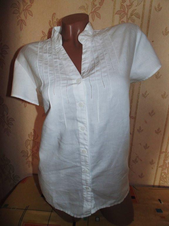Отличная блуза-туника из натуральной ткани 50р