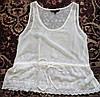 Нарядная шифоновая майка-блуза 46-48р