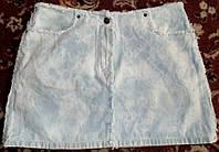 Модная джинсовая юбка 44-46р,сост отличное