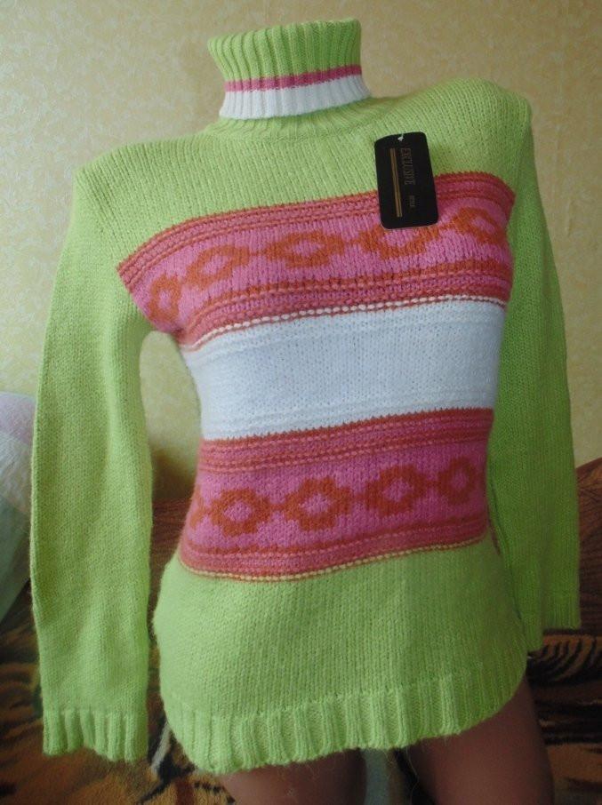 Теплый свитер 44-46р