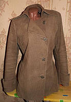 Бомбезный пиджак-ветровка 44р.Вельвет(хлопок)