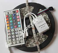 Светодиодная RGB лента 5050 ip 65 + пульт