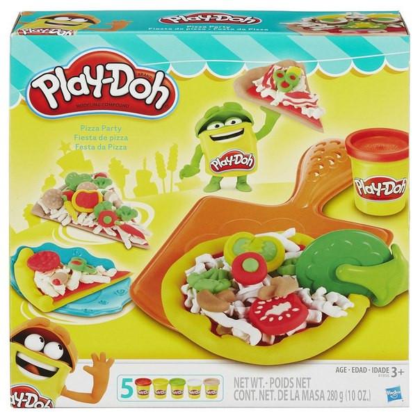 """АКЦИЯ! Набор пластилина """"Пицца""""Play-Doh"""