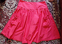 Коралловая юбка 46-48р,Индия