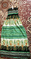 Бомбезное платье в пол,для высоких 42-48р.Всего 1!