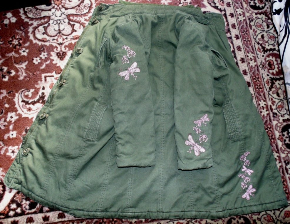 Куртка-парка 8-12лет