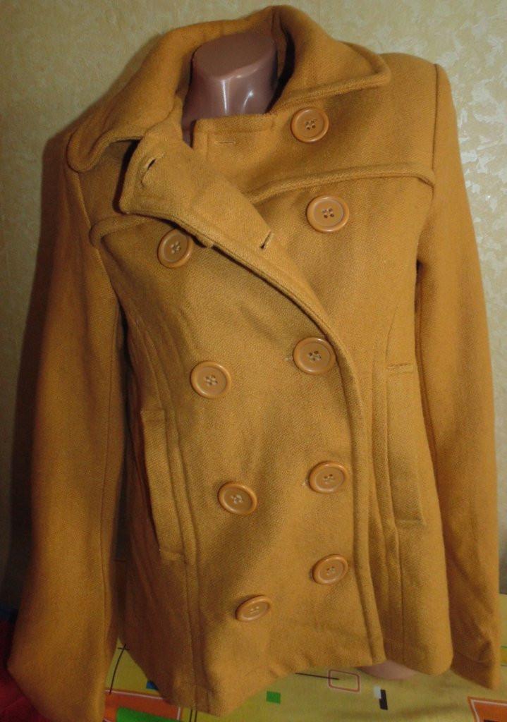 Фирменное пальто для беременных(полушерсть) 44-46р