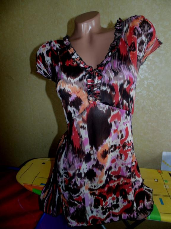 Шифоновая блуза Soon 48-50-52р,можно беременным