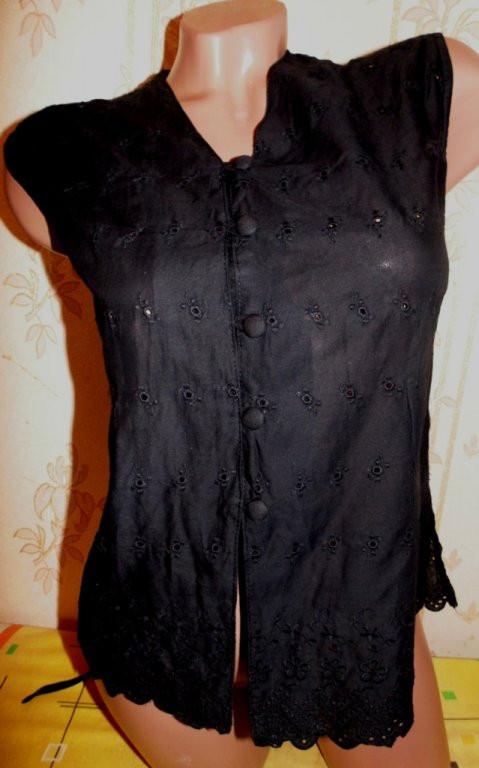 Нарядная блуза-майка 50-52р