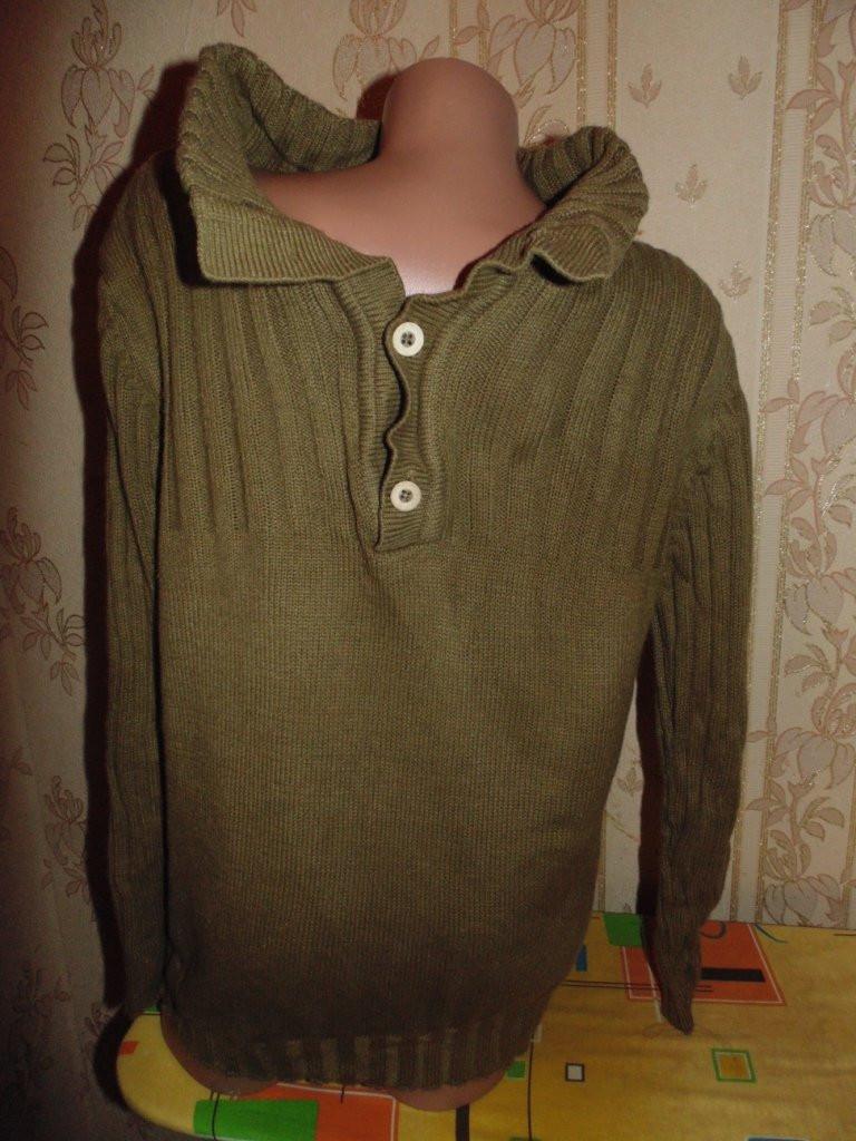 Теплый свитер,стиль милитари