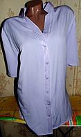 Нарядная блуза,очень большой размер