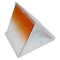Светофильтр Cokin P оранжевый градиент квадратный.
