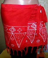 Пляжная юбка на запах 44-50р