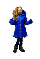 Зимняя куртка для девочки 6-11 лет Герда, электрик