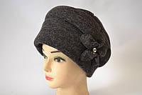Женские зимние шапки трикотаж ангора