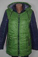 Женская куртка на синтепоне батал