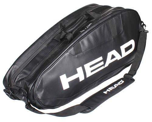 Черная теннисная сумка  на 10 ракеток 283094 Original Combi HEAD