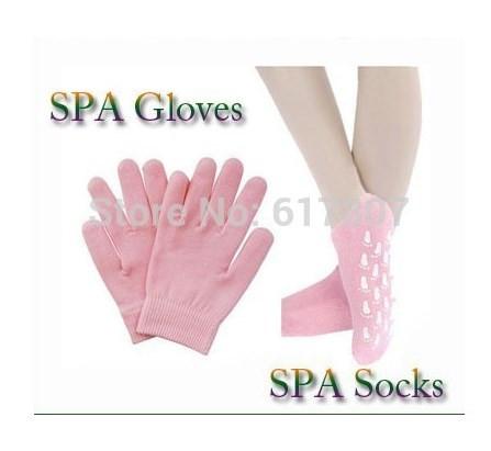 Гелевые Увлажняющие SPA-перчатки и носочкиКОМПЛЕКТ
